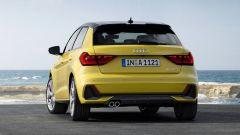 Audi A1 Sportback 2019, vista posteriore