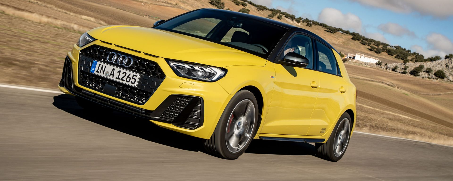 Audi A1 Sportback: in arrivo nuovi motori TSI
