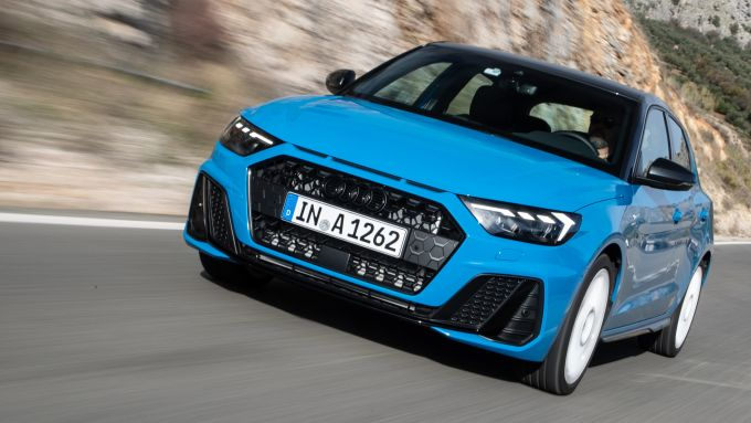 Audi A1 Sportback, su strada è un gioiellino di dinamica