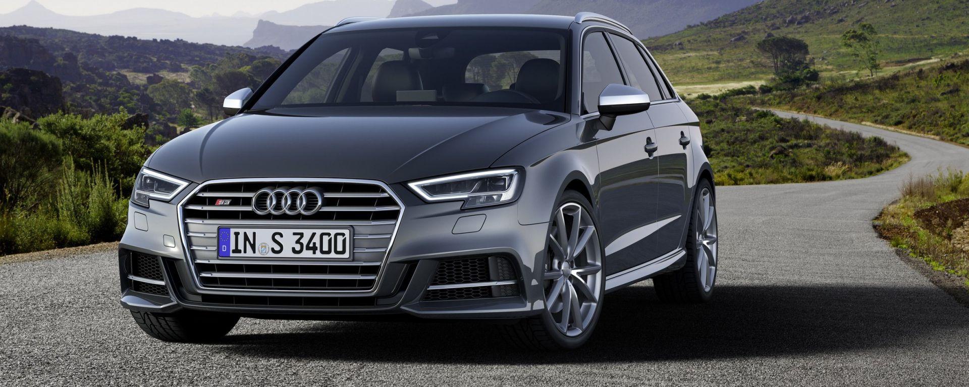 Audi A3 2016: tutte le novità del restyling