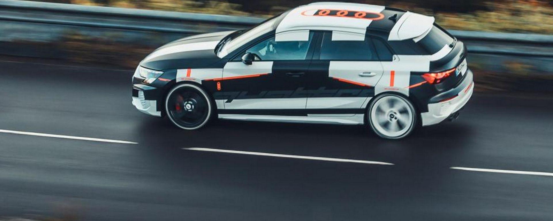 Audi A3 2020, il prototipo provato in anteprima dalla stampa british