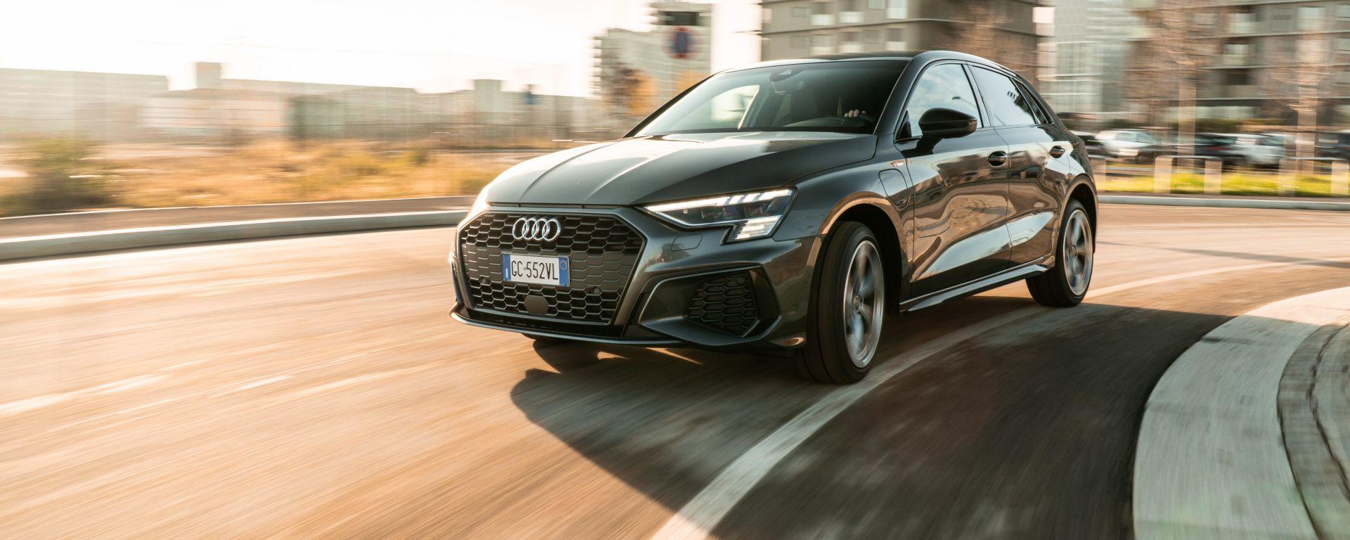 Audi A3 40 TFSIe S Line Edition: buon assetto per piacere di guida e comfort a bordo della tedesca
