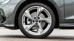 Audi A3 40 TFSIe S Line Edition: i cerchi in lega leggera da 18