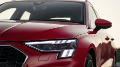 Audi A3, il faro anteriore