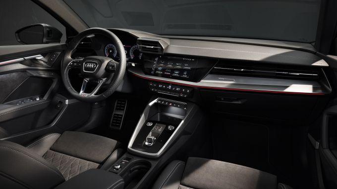Audi A3 Sedan 2020, gli interni