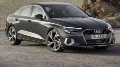 Audi A3 Sedan 2020: il 3/4 anteriore