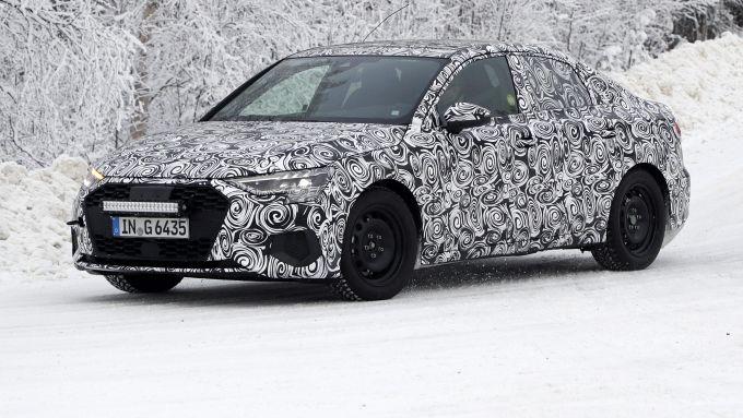 Audi A3 Sedan vista laterale