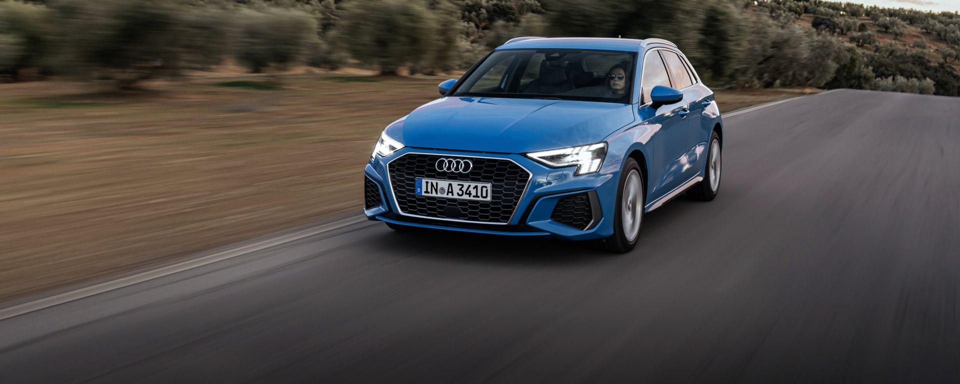 Audi A3 Sportback 2020: la prova in video della nuova compatta premium tedesca