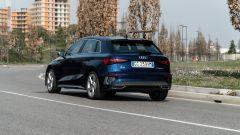 Audi A3 Sportback 30 g-tron: 131 CV a gas