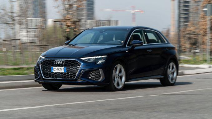 Audi A3 Sportback 30 g-tron: comoda berlina premium