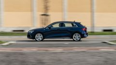 Audi A3 Sportback 30 g-tron: dinamica di guida ineccepibile