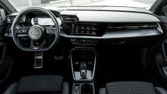 Audi A3 Sportback 30 g-tron: gli interni spaziosi