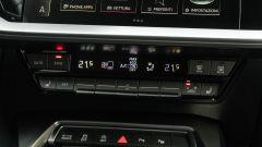 Audi A3 Sportback 30 g-tron: i comandi a