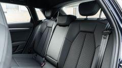 Audi A3 Sportback 30 g-tron: i sedili posteriori