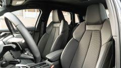 Audi A3 Sportback 30 g-tron: i sedili sportivi anteriori