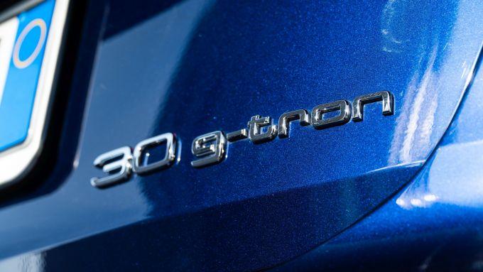 Audi A3 Sportback 30 g-tron: il nome dell'auto sul portellone