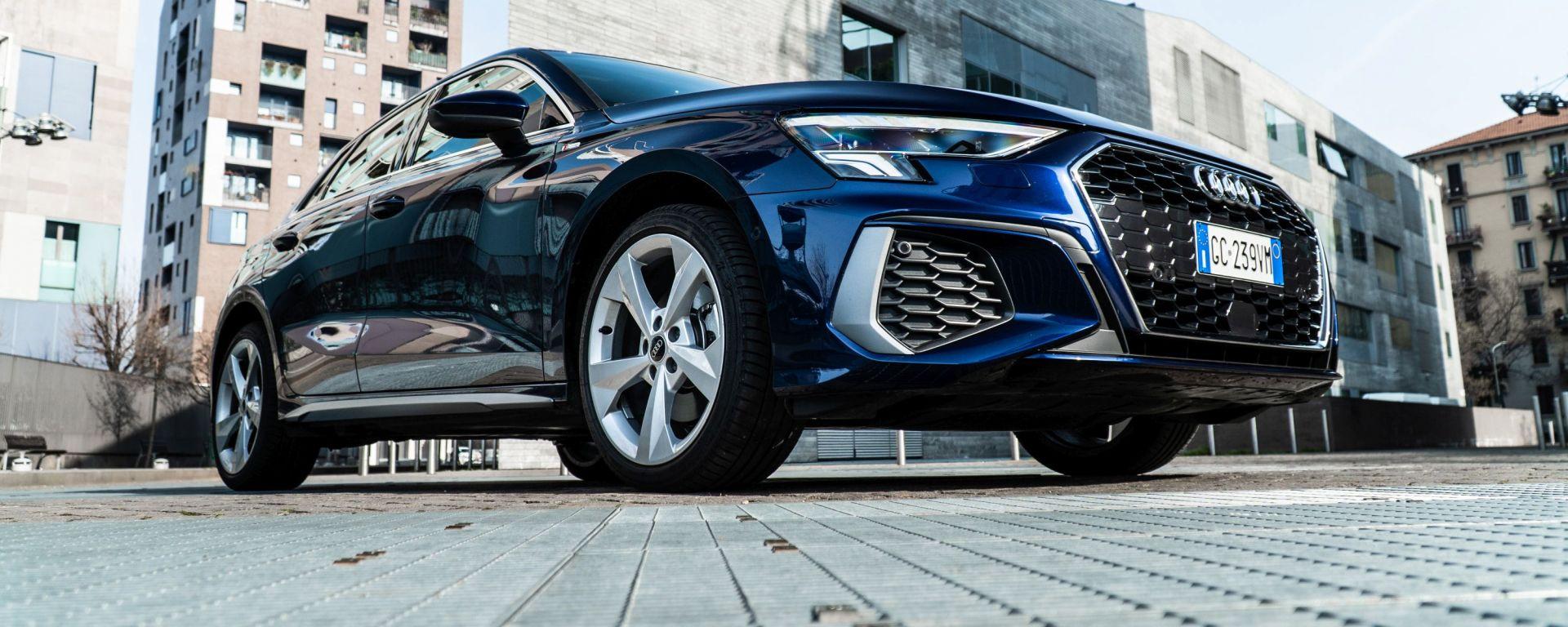 Audi A3 Sportback 30 g-tron: la nuova berlina premium a metano