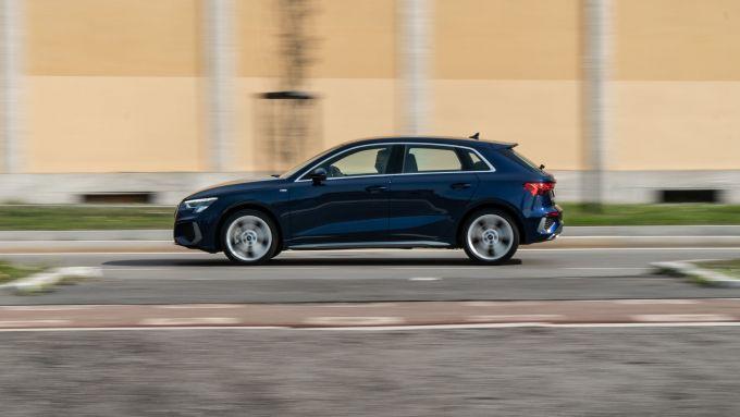 Audi A3 Sportback 30 g-tron: tanta tecnologia a bordo