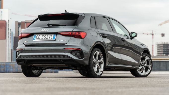 Audi A3 Sportback 40 TFSIe S Line Edition: design moderno e family feeling assicurato