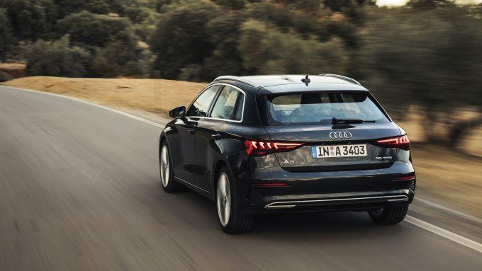 Audi A3 Sportback, a listino anche la 1.5 mild hybrid