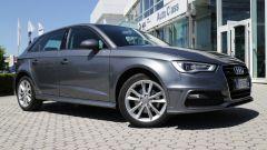 Audi A3 Sportback: dopo più di 3 anni la carrozzeria appare perfetta