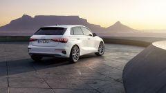 Audi A3 Sportback g-tron S tronic: 131 CV e 211 km/h di velocità massima, con lo 0-100 in 9,7