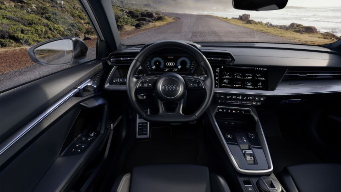 Audi A3 Sportback g-tron S tronic: gli interni