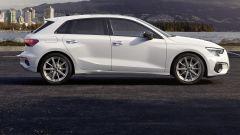 Audi A3 Sportback g-tron S tronic: vista laterale