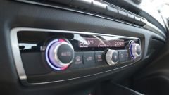 Audi A3 Sportback: i comandi del climatizzatore