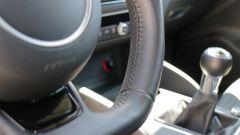 Audi A3 Sportback: il volante non ha graffi e non è lucido