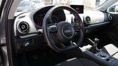 Audi A3 Sportback: la qualità degli assemblaggi è eccellente