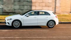 Audi A3 vs Mercedes Classe A plug-in hybrid: anche per la compatta PHEV della Stella ci sono i profili di guida