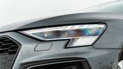Audi A3 vs Mercedes Classe A plug-in hybrid: i proiettori anteriori Matrix LED della A3