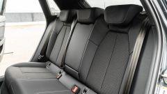 Audi A3 vs Mercedes Classe A plug-in hybrid: il divanetto posteriore della A3