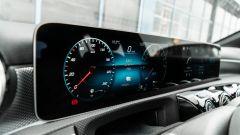 Audi A3 vs Mercedes Classe A plug-in hybrid: il doppio display per cruscotto e infotainment della Classe A