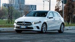 Audi A3 vs Mercedes Classe A plug-in hybrid: la Classe A offre un comfort appena superiore della rivale