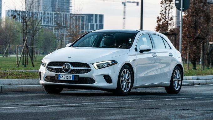 Audi A3 vs Mercedes Classe A plug-in hybrid: la piccola di Stoccarda è più performante della rivale