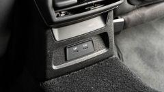 Audi A3 vs Mercedes Classe A plug-in hybrid: le prese USB C per i passeggeri posteriori sulla A3