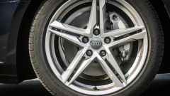 Audi A4 2.0 TDI: dettaglio della ruota