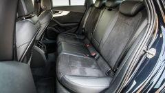 Audi A4 2.0 TDI: sedili posteriori