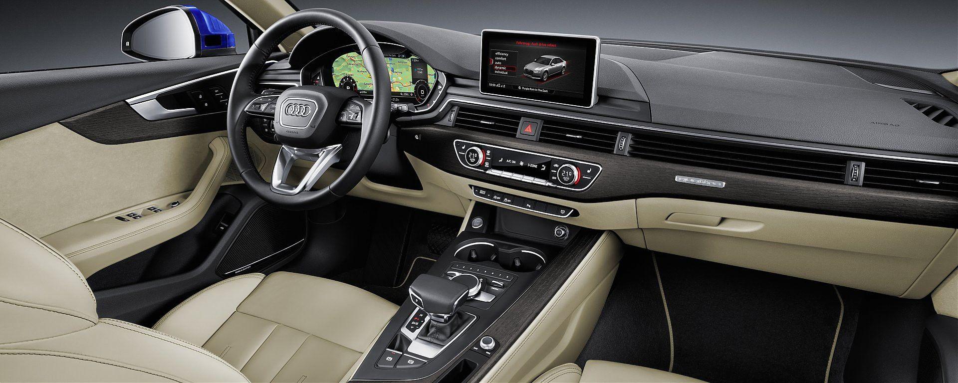 Audi A4 2016: le novità hi-tech