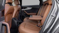 Audi A4 2019: i posti posteriori