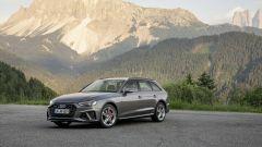 Audi A4 2019: il frontale ridisegnato