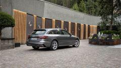 Audi A4 2019: il nuovo posteriore