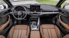 Audi A4 2019: l'abitacolo con il nuovo infotainment