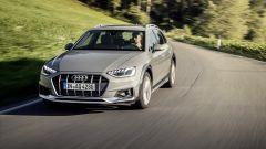 Audi A4 Allroad: l'anteriore