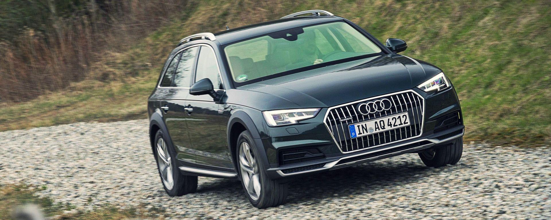 Audi A4 allroad quattro 2016, la prova e il video