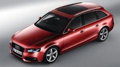 Audi A4 Avant 2008, vista dall'alto