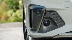 Audi A4 Avant 2019, dettaglio del fascione frontale
