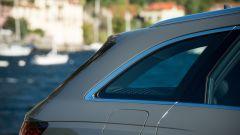 Audi A4 Avant 2019, dettaglio del montante C